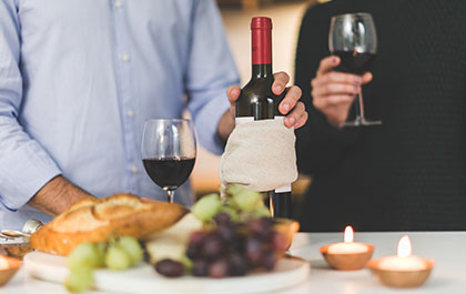 Notre gamme de vins venant de la cave du Restaurant