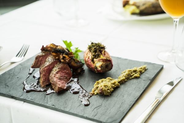 Plat restaurant Rennes