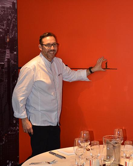 Chef du restaurant Paris NewYork : Frédéric Barbier